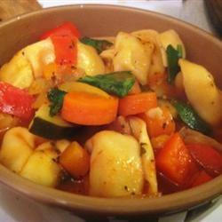 Tortellini Soup I moonbabymandi