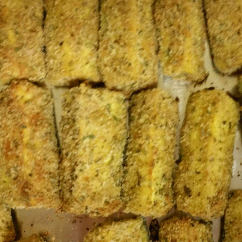 Baked Panko-Breaded Zucchini Fries Yolanda Britton