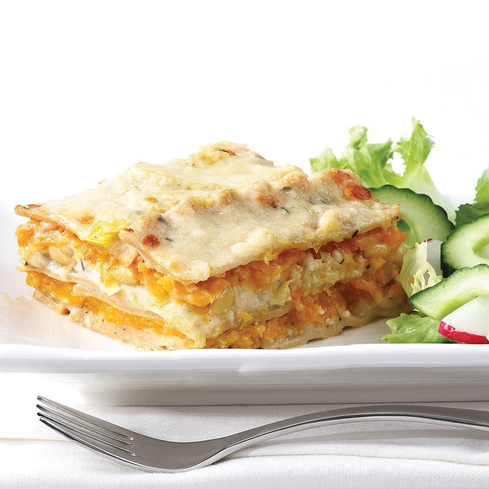 Squash & Leek Lasagna EatingWell Test Kitchen