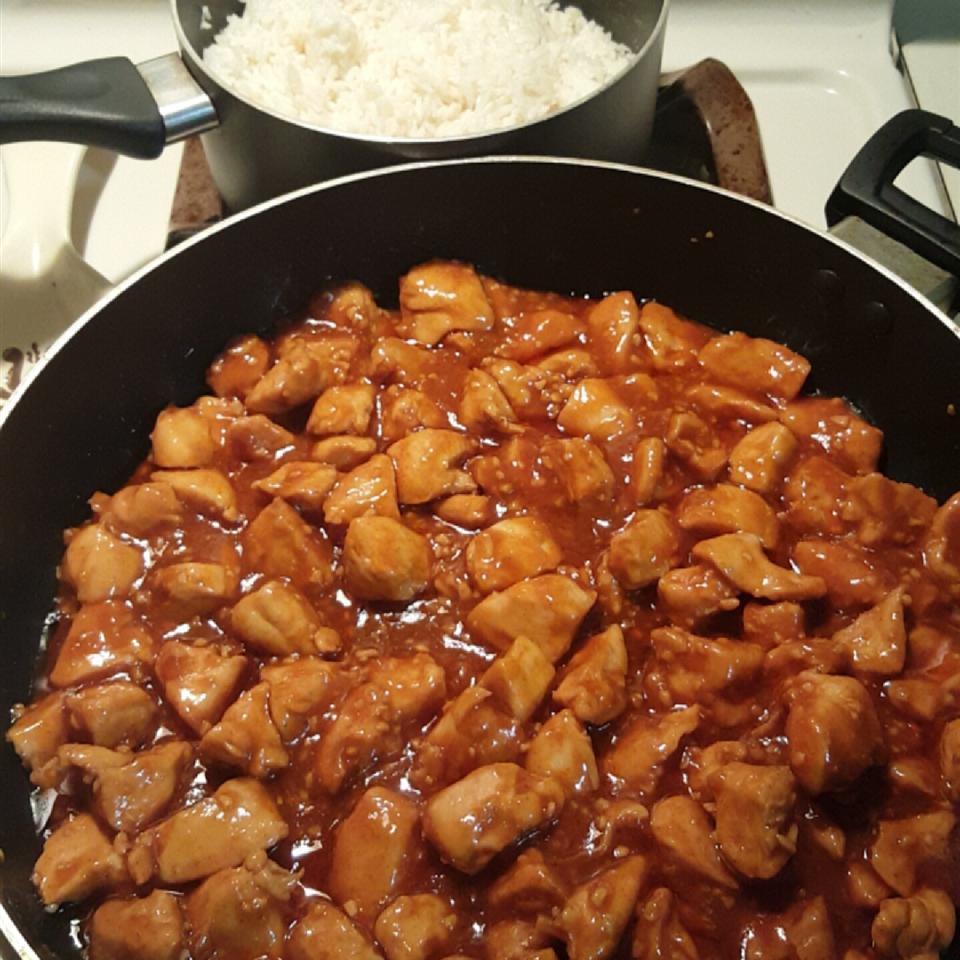 Mama's Asian Chicken and Rice