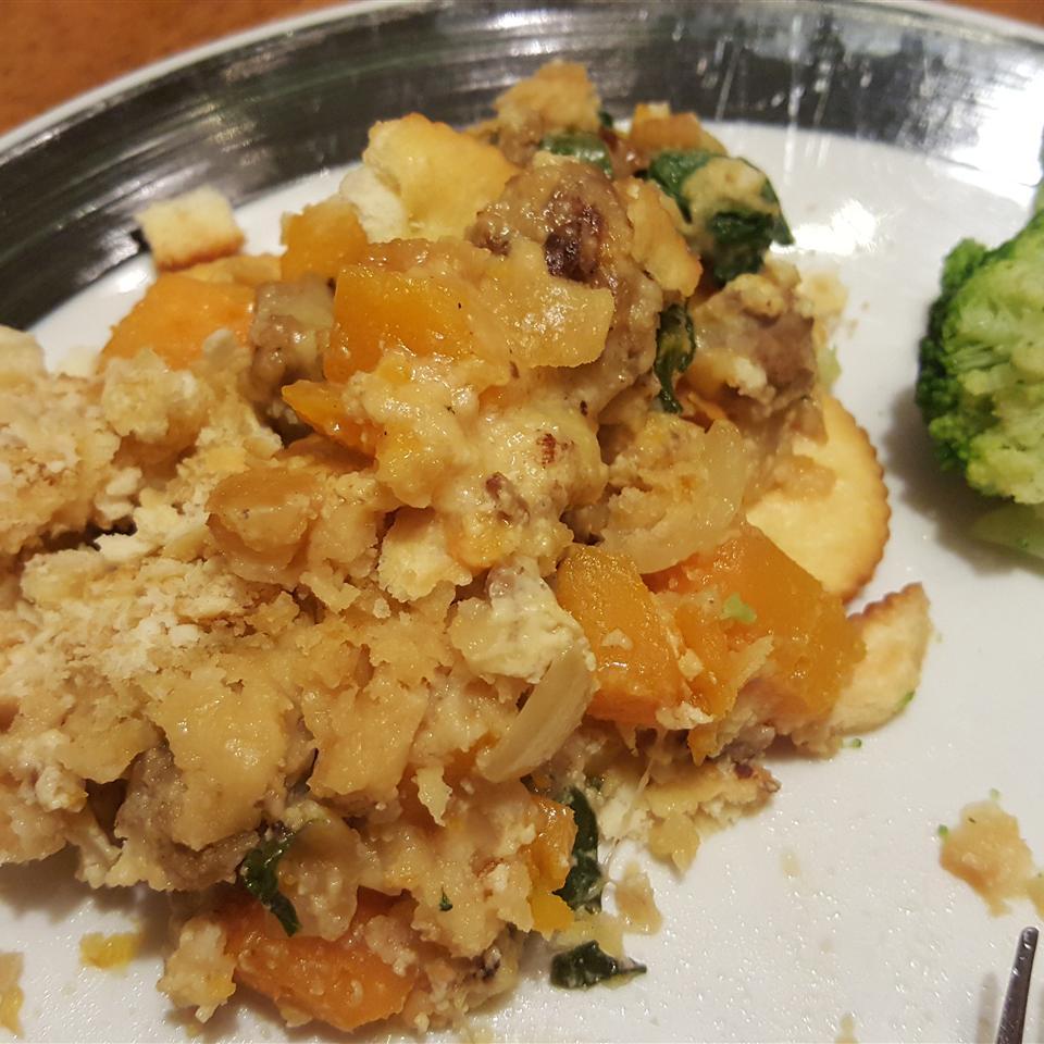 Kristin's Turkey Butternut Squash Casserole