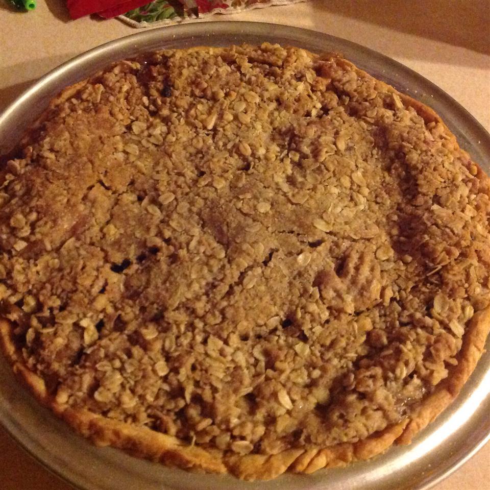 Dutch Apple Pie with Oatmeal Streusel Deborah Covedill Norrod