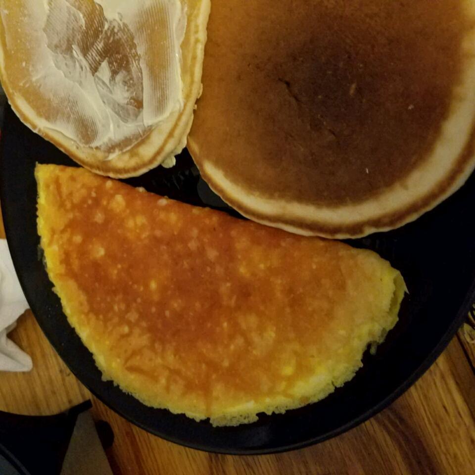 Parmalet (Crisp Parmesan Omelet)