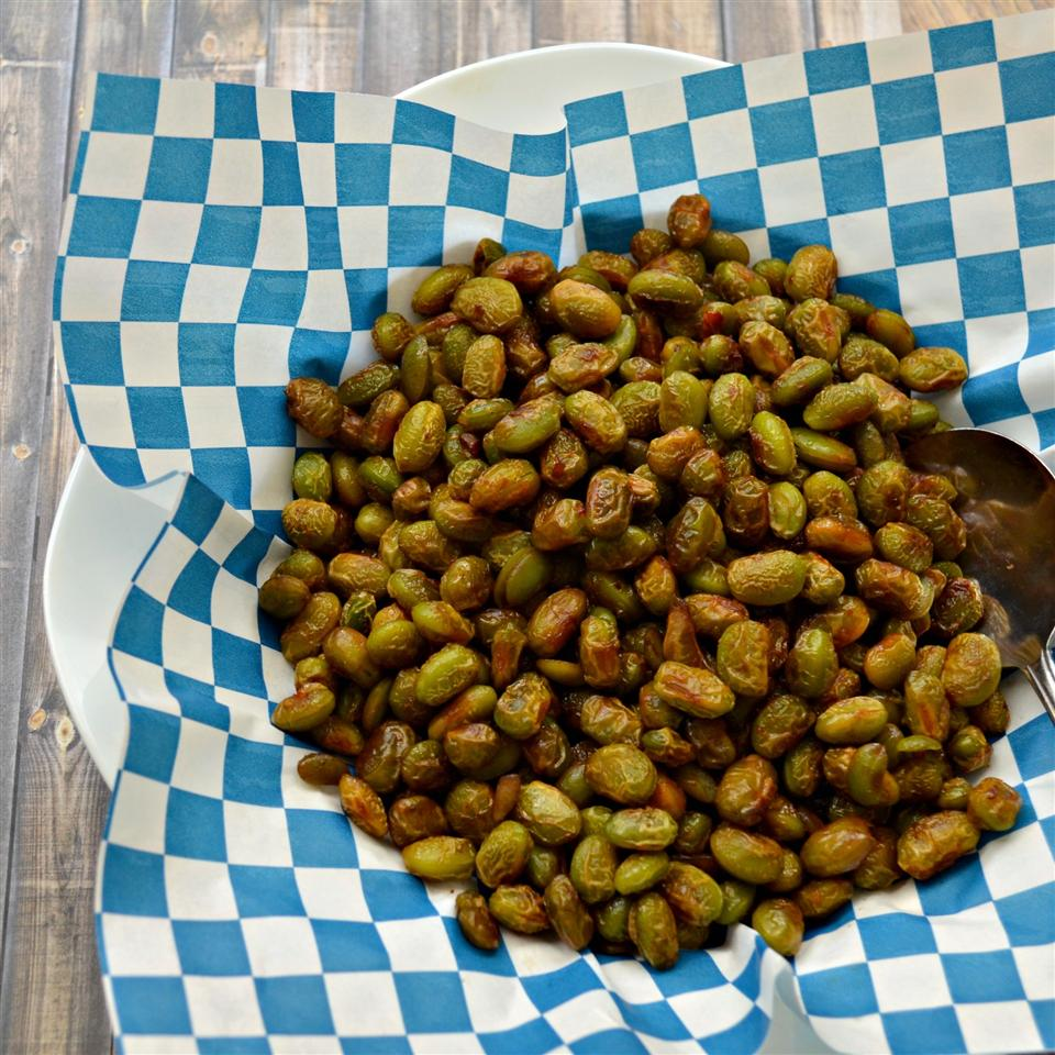 Sweet and Spicy Edamame Kim's Cooking Now