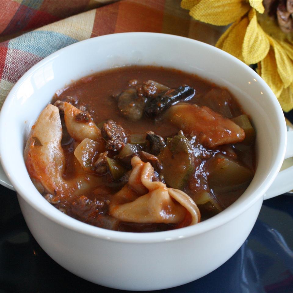 Mom's Italian Tortellini Soup
