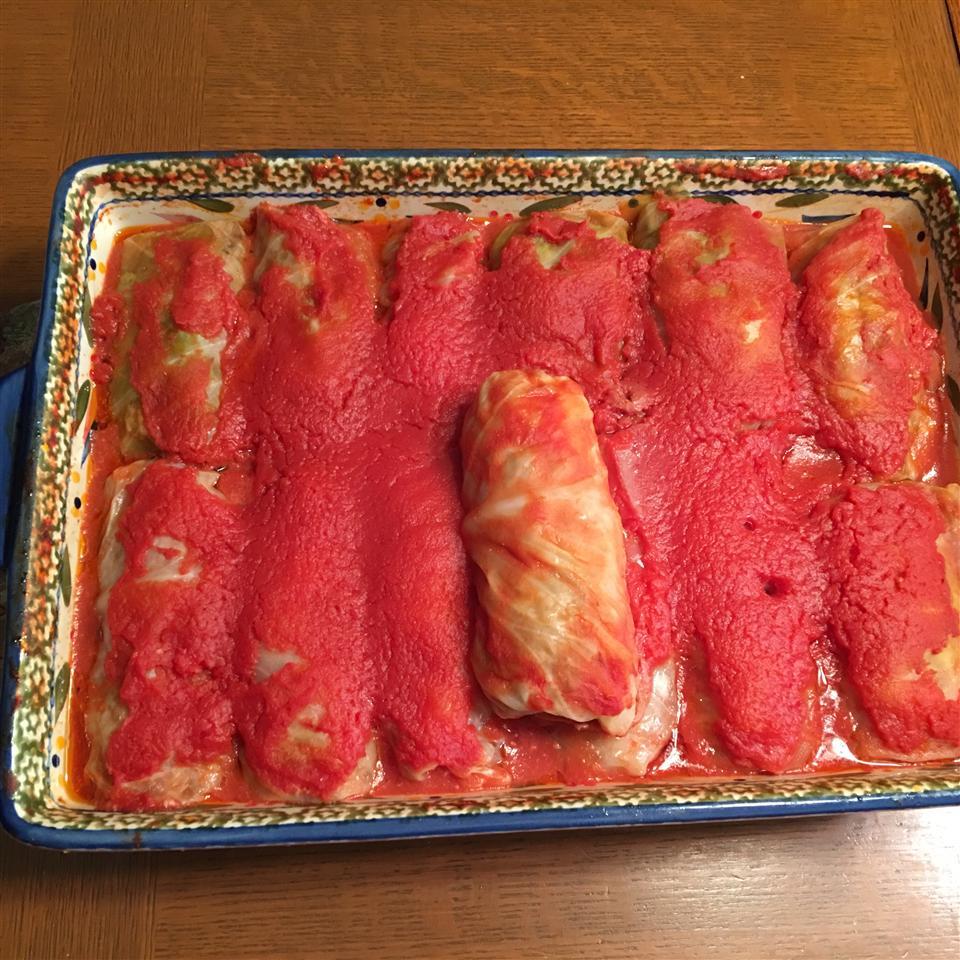 Halupki (Stuffed Cabbage) Donna Lynn Rutherford-Mandato