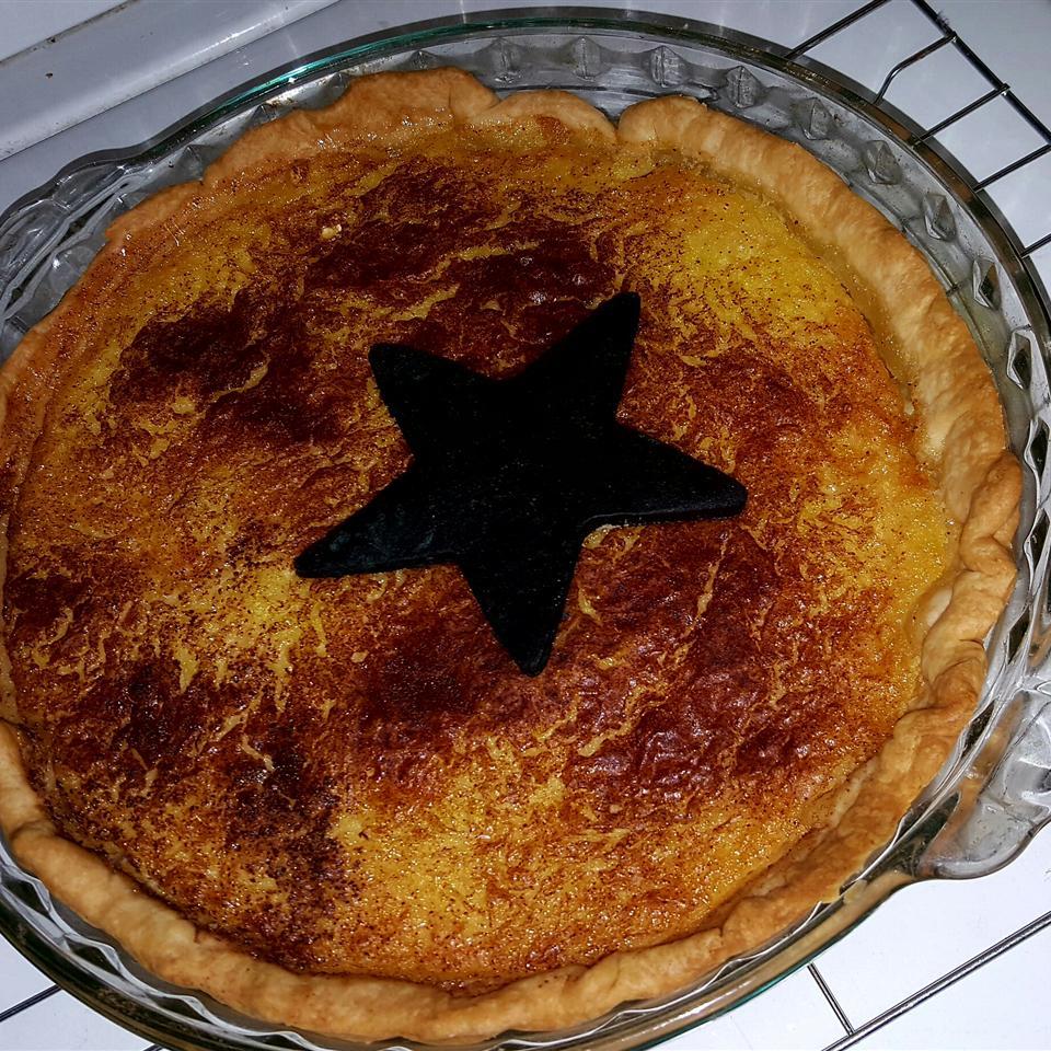 Mock Coconut Pie (Spaghetti Squash Pie)