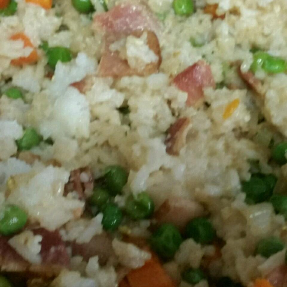 Easy Bacon Fried Rice Teresa DeSimone