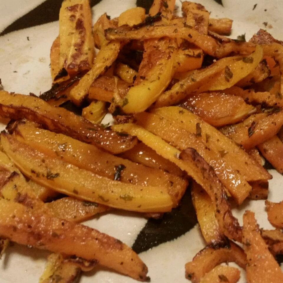 Healthier Butternut Squash Fries