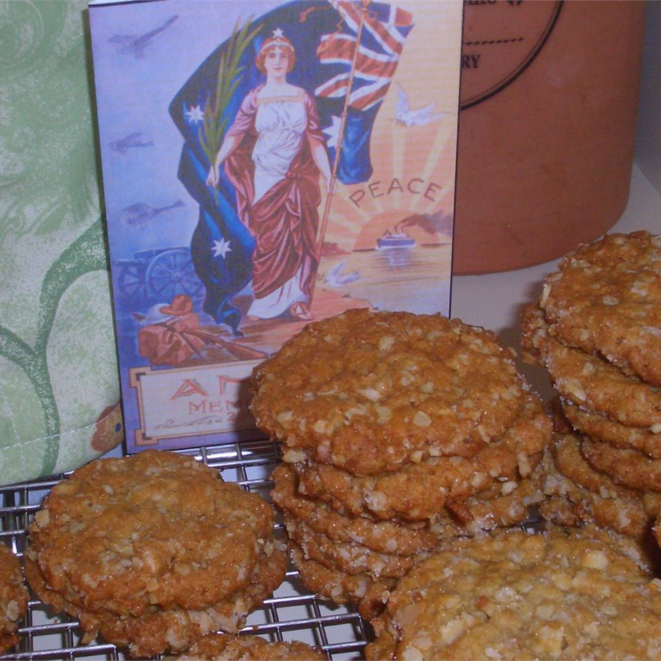Anzac Biscuits with Macadamia Nuts Gail A. Guild