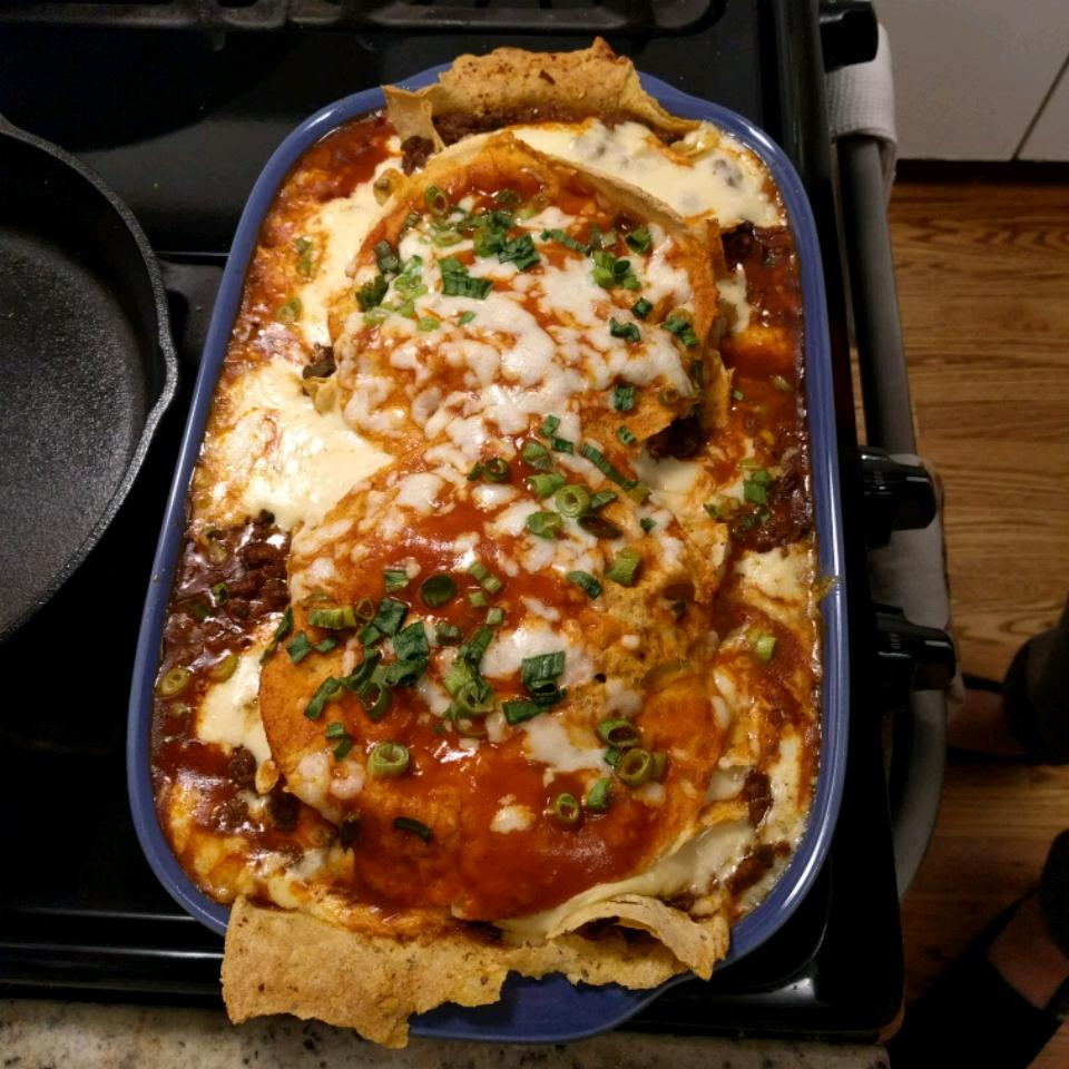 Ground Beef Enchiladas Andy Greene