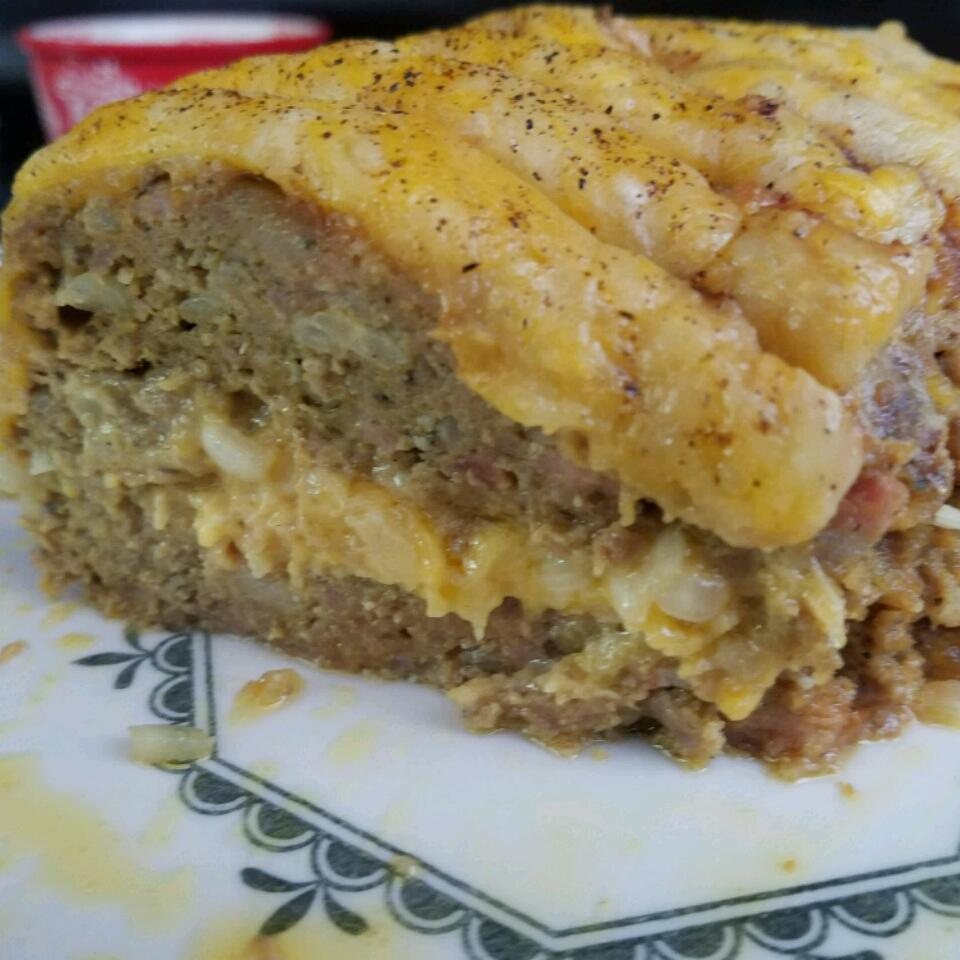 Dad's Cheesy Bacon Wrapped Meat Loaf JAXEATZ