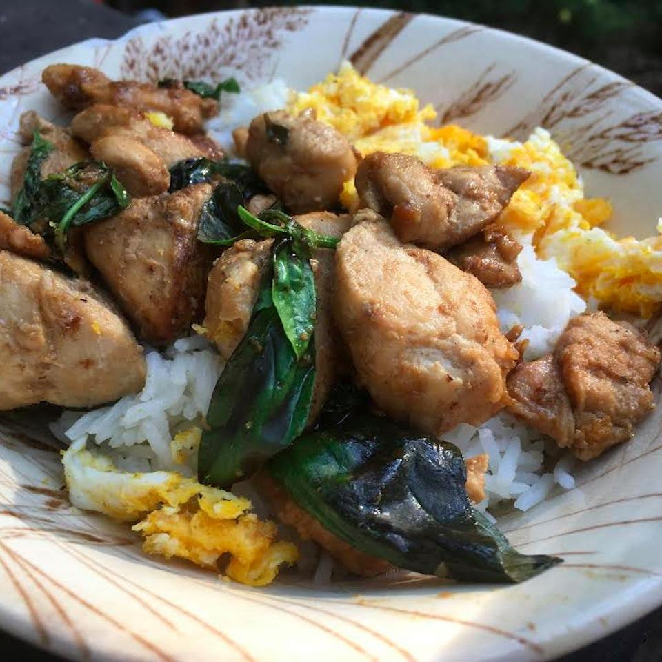 Easy and Spicy Thai Basil Chicken with Egg Seattle2Sydney