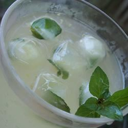 Sun-Brewed Mint Tea pomplemousse