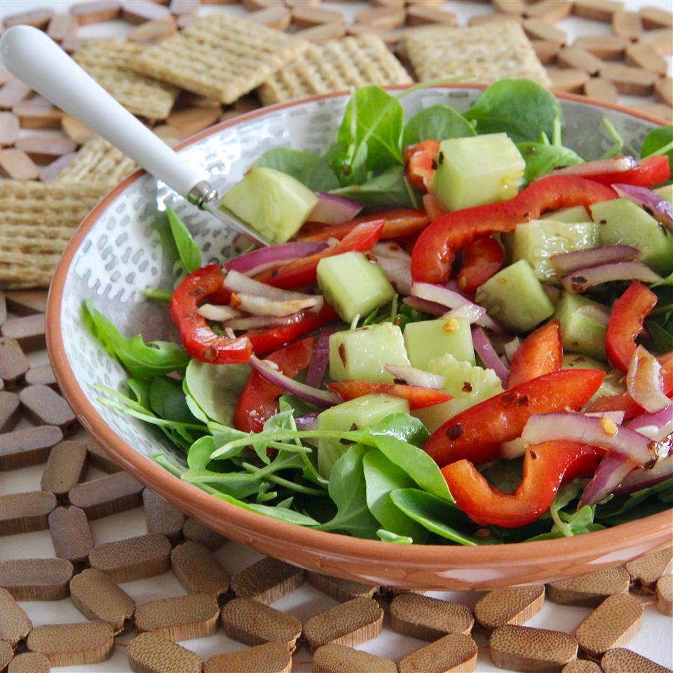 Spicy Watercress Salad