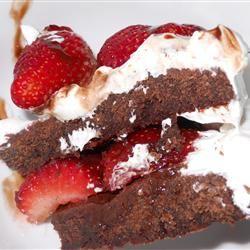Strawberry Brownie Delight Ashley B.