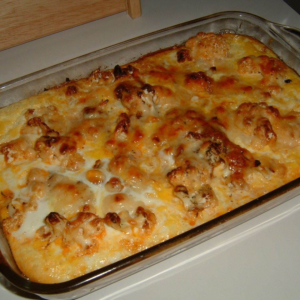 Cauliflower Cheese Pie Caroline C