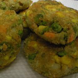 Vegetable Cutlets PolkaDot