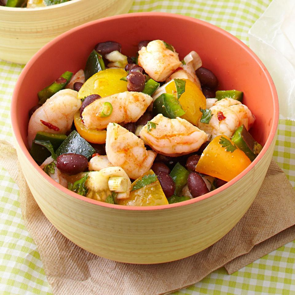 Zesty Shrimp & Black Bean Salad EatingWell Test Kitchen