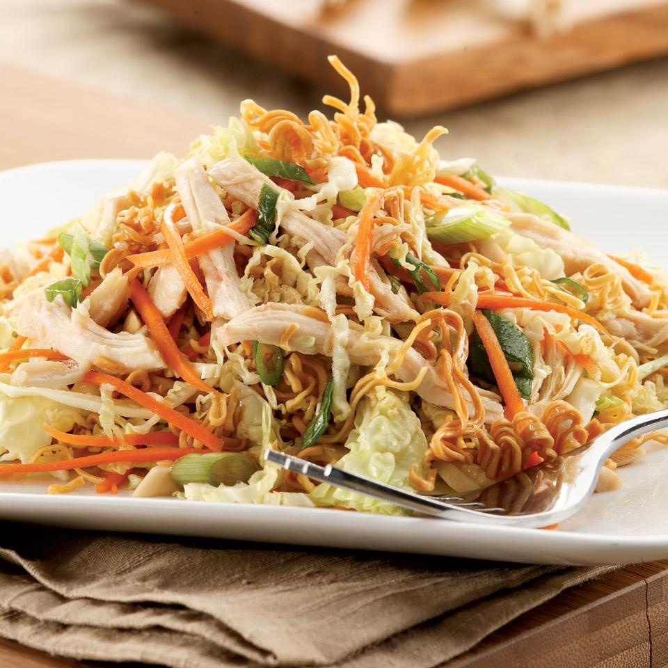 Chinese Chicken & Noodle Salad EatingWell Test Kitchen