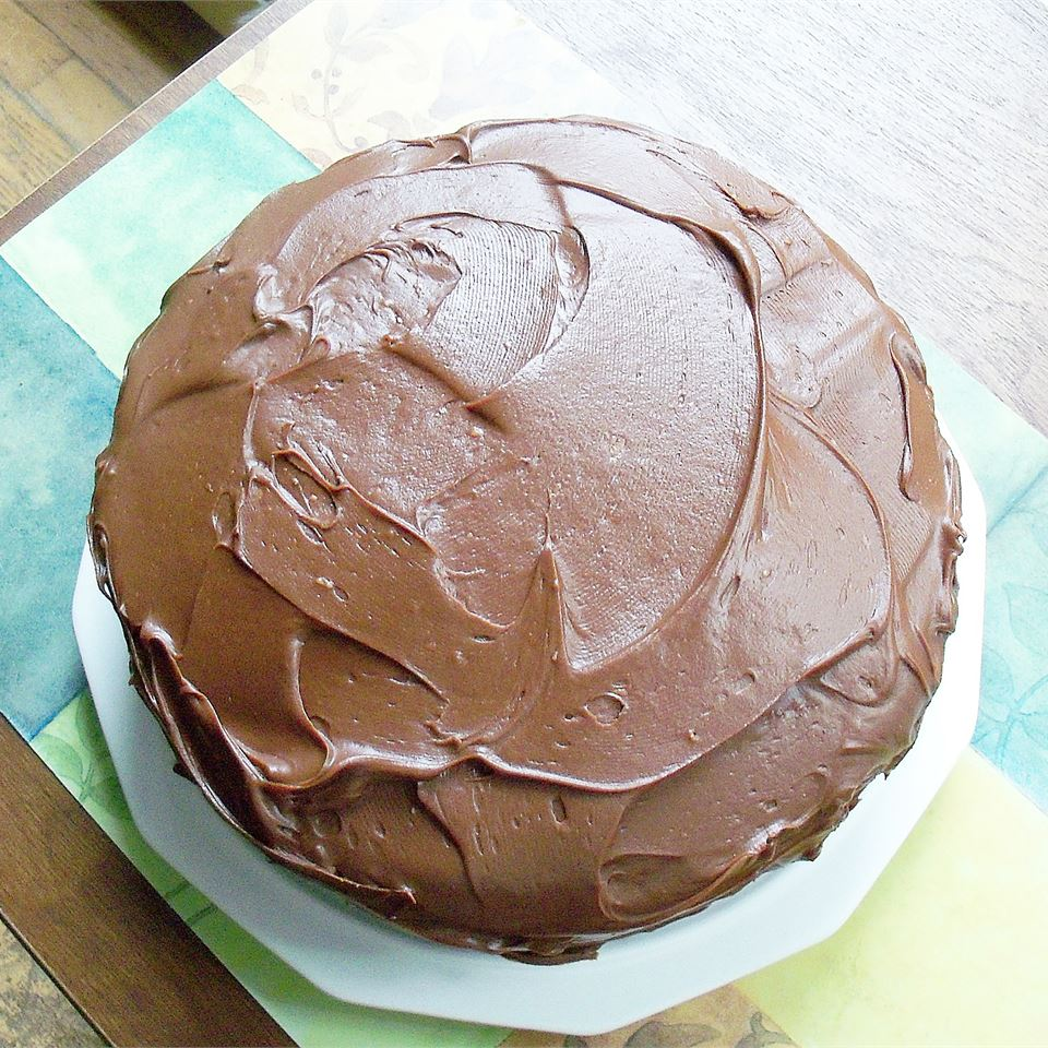 Sour Cream Chocolate Frosting wannabe chefette