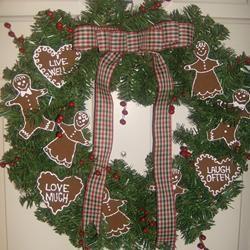 Scented Applesauce-Cinnamon Ornaments