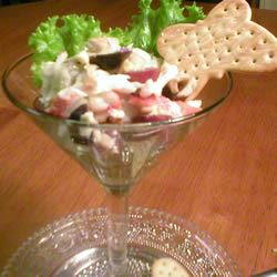 Crab with Stilton Cheese