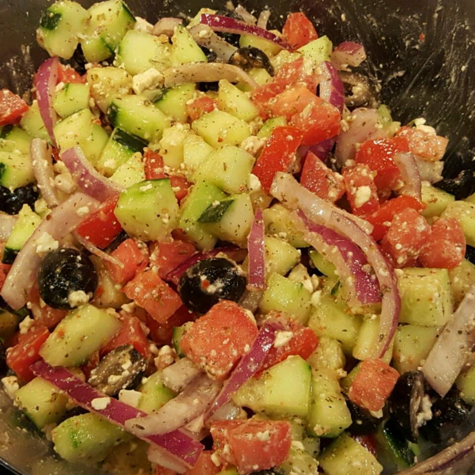 Good for You Greek Salad lilyrose