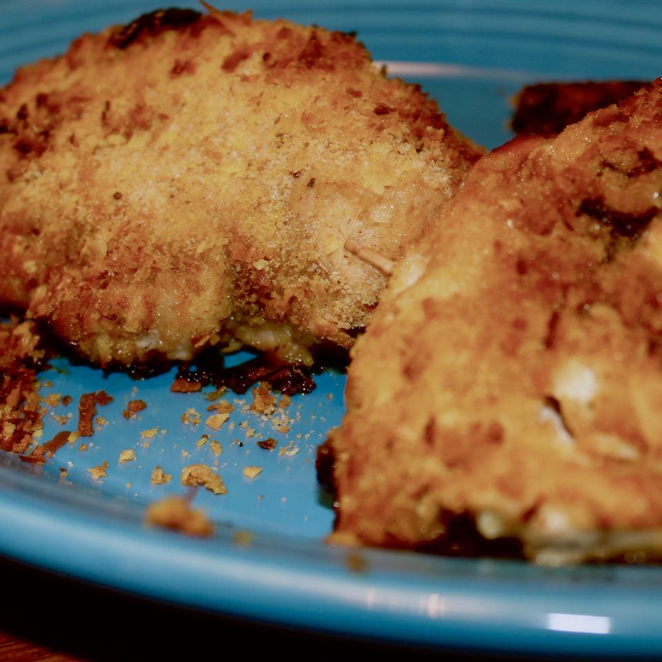 Caramelized Onion and Gouda Stuffed Chicken Joey Joan