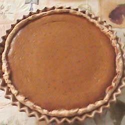 Pilgrim Pumpkin Pie SDV