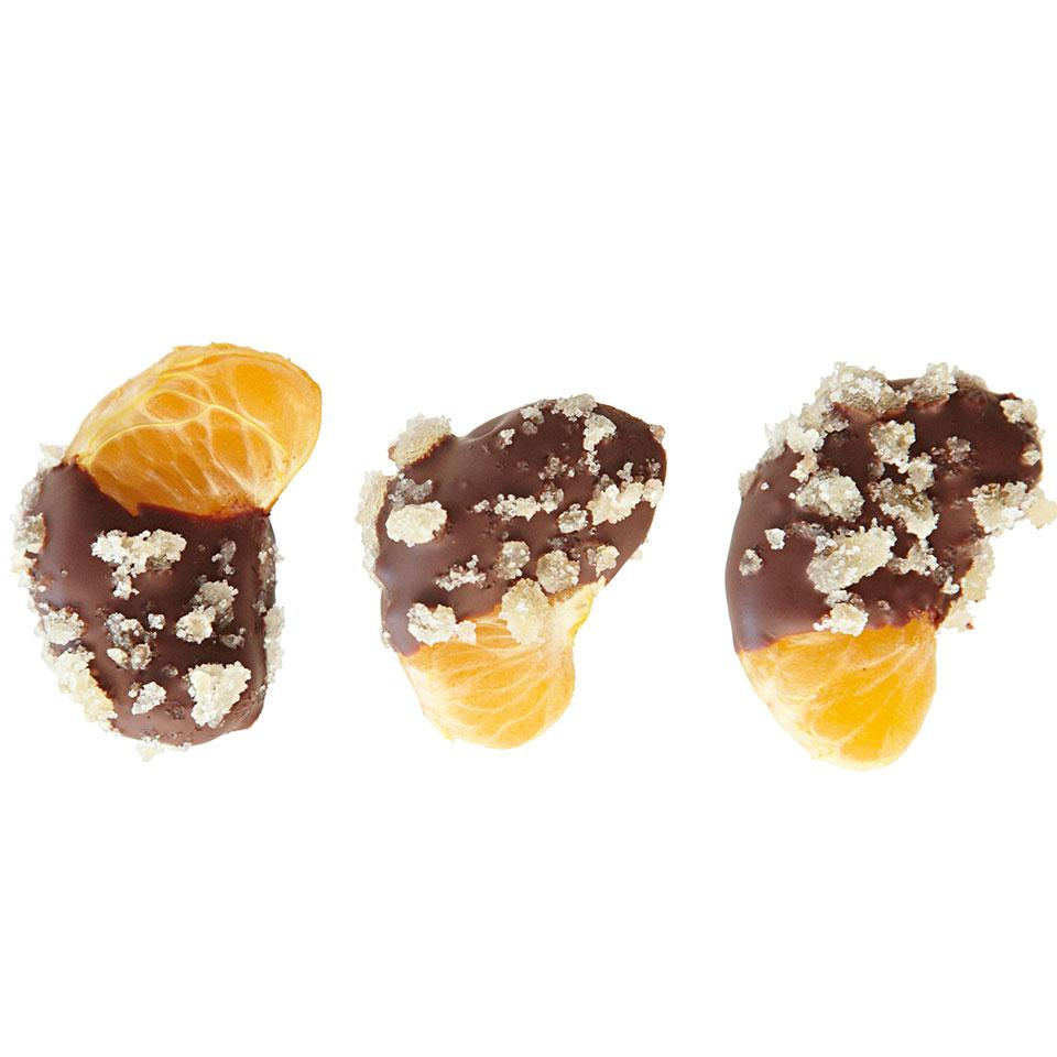 Chocolate-Dipped Clementines EatingWell Test Kitchen