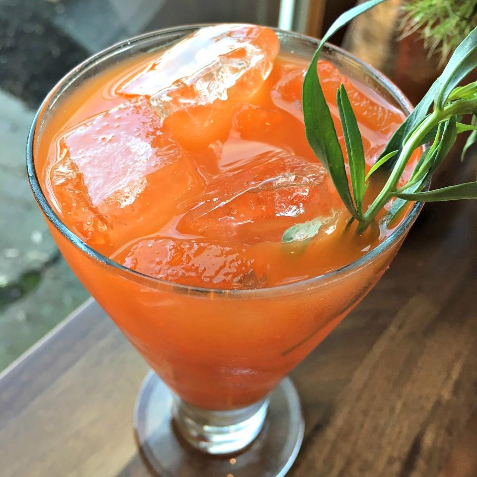 Friday Harbor House's Carrot Cocktail
