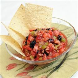 Spicy Fruit Salsa