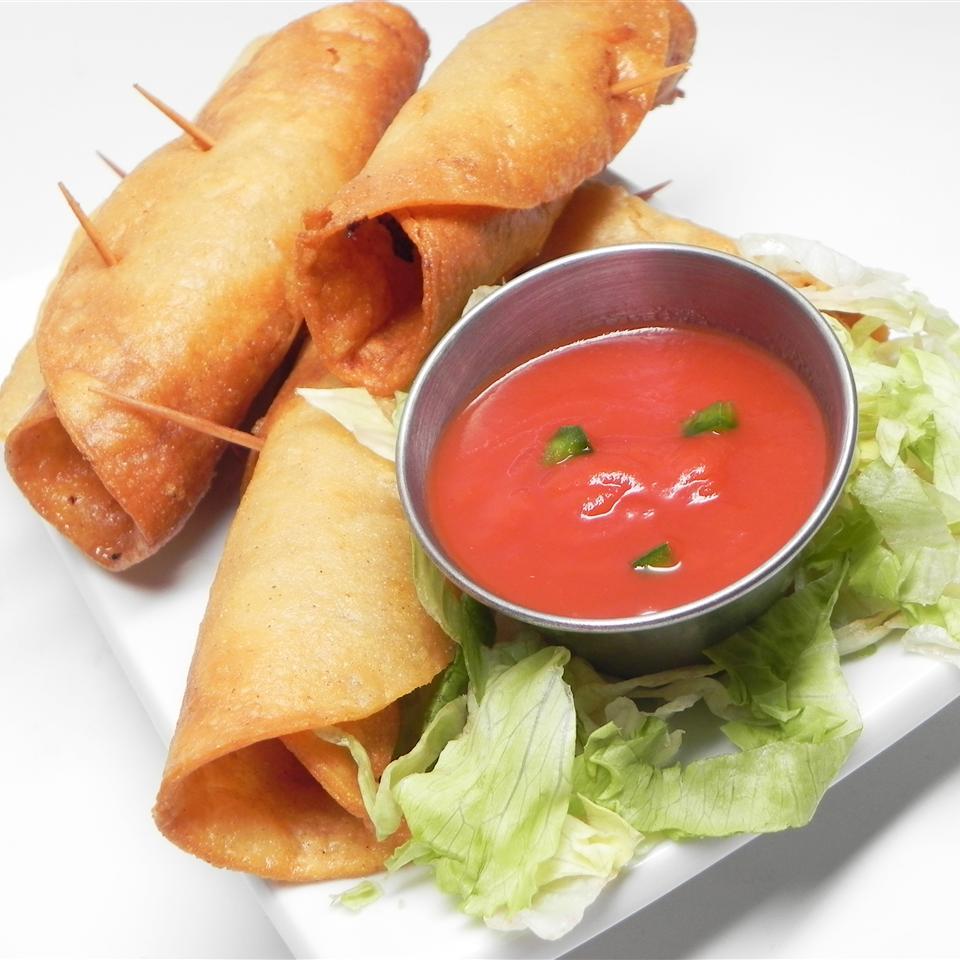 Honduran-Style Crispy Fried Tacos Nissi Pineda