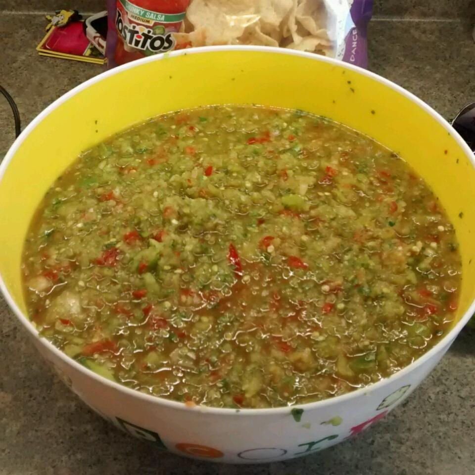 Spicy Green Tomato Salsa