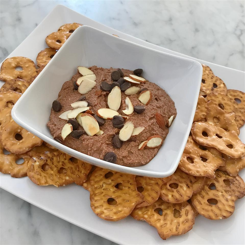 Chocolate Almond Ricotta Dip fabeveryday