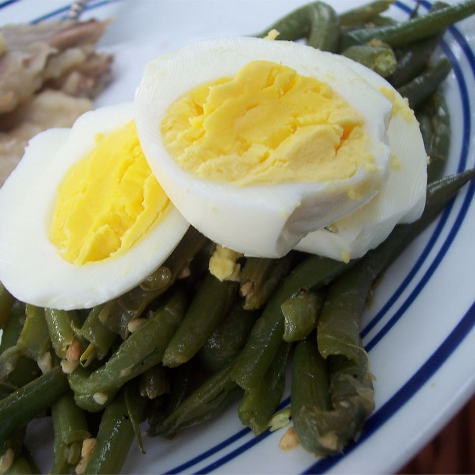 Sauteed Dilled Green Beans pomplemousse