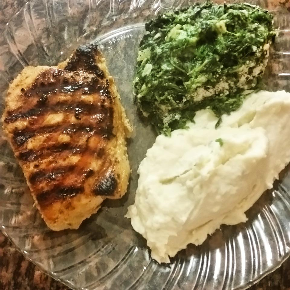 Creamed Spinach Annette R