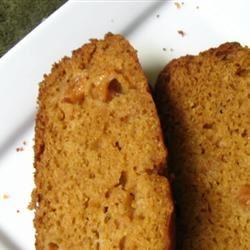 Cantaloupe Bread with Praline Glaze