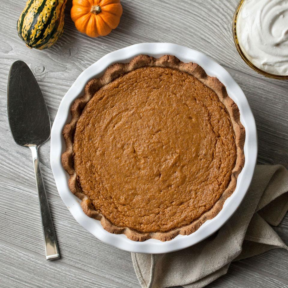 Vegan Pumpkin Pie Breana Killeen