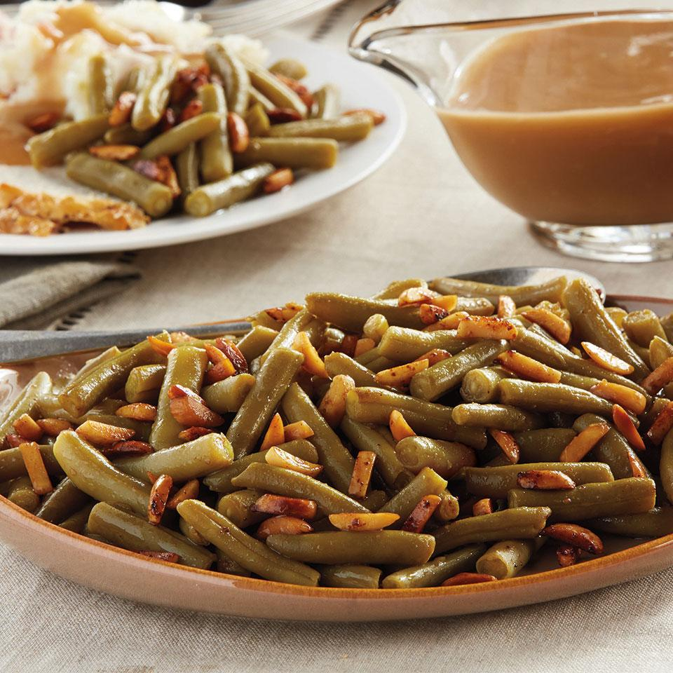 Toasted Almond Green Beans Del Monte