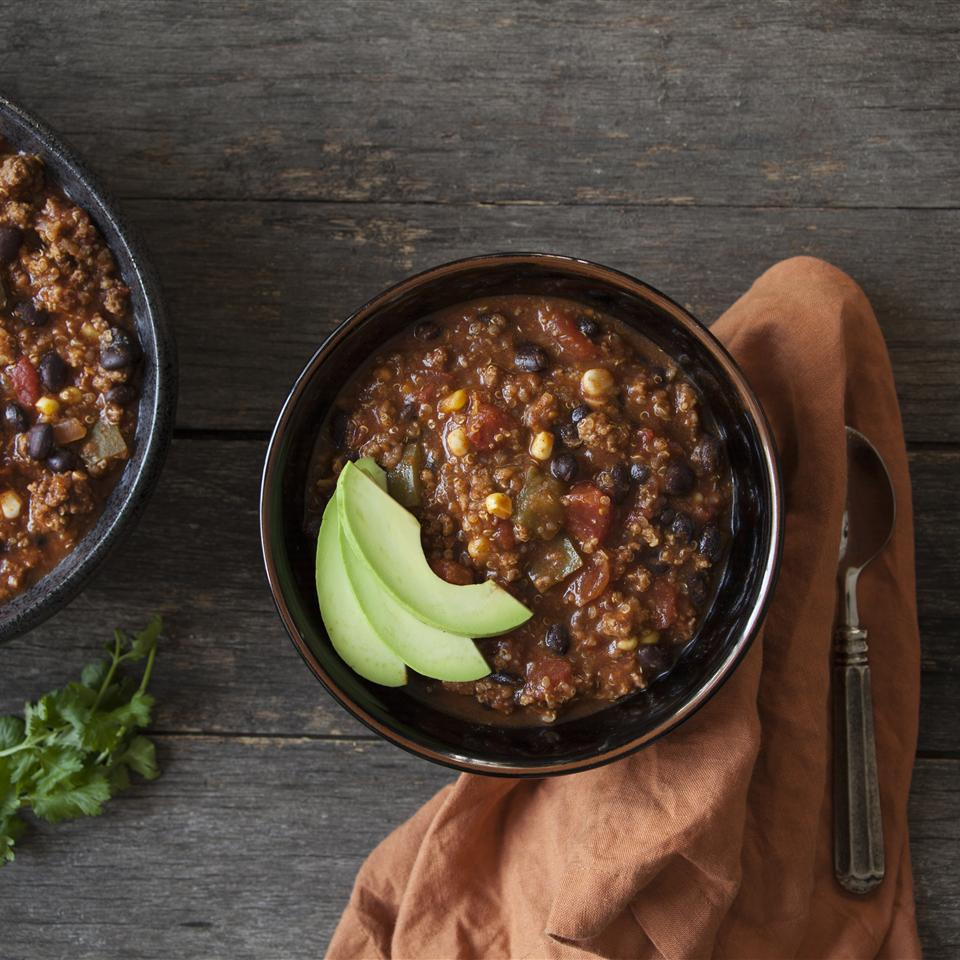 Ghost Pepper Bison Chili with Quinoa Hunt's