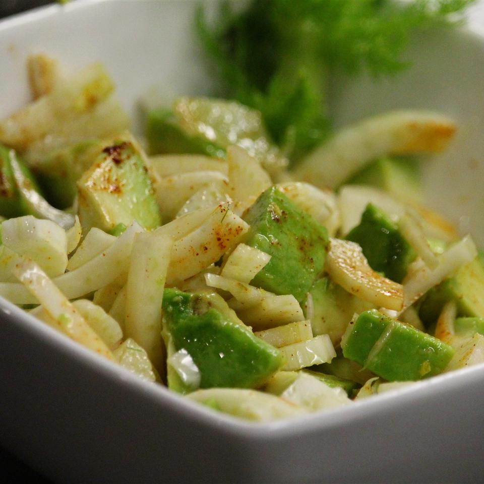 Insalata di Finocchi e Avocado (Fennel and Avocado Salad)