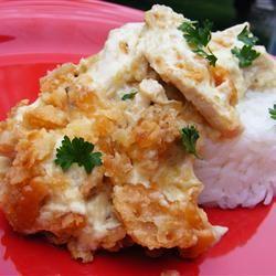 Chicken Crunch Casserole Kim Fischer