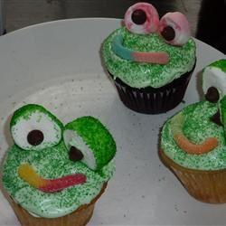 Frog Cupcakes Stephanie Foley