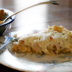 Sweet Onion Pie foodaholic