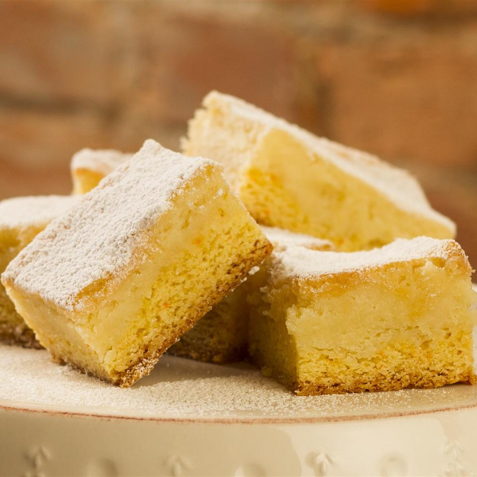 Buttery Cake Squares
