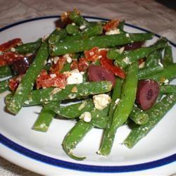 Marinated Green Beans with Olives, Tomatoes, and Feta Marsha Eibert