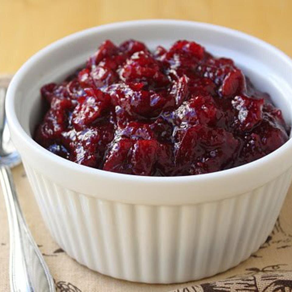 tangerine cherry cranberry sauce