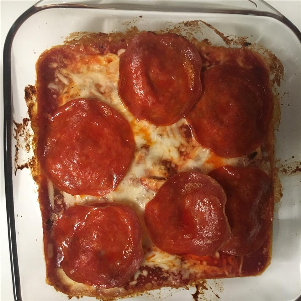 Baked Chicken Pepperoni adrianne